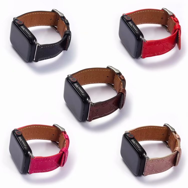 Apple Watch Leather Strap 38mm 40mm 42mm 42mm